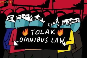 Mereka yang Mancing 'Main Kasar' di Demo Omnibus Law Tak Kan Menang: Panjang Umur Perjuangan!
