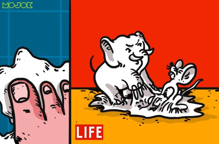 Pelajaran Hidup Setelah Menginjak Jebakan Lem Tikus yang Saya Pasang Sendiri
