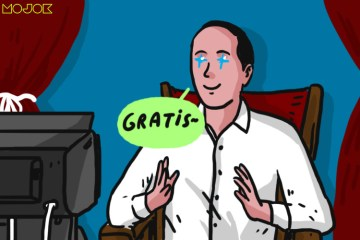 Pengumuman Vaksin Gratis Justru Bikin Deg-degan, Mengingat Track Record Jokowi