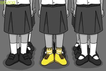 Upacara Bendera dan Sepatu yang Tertukar