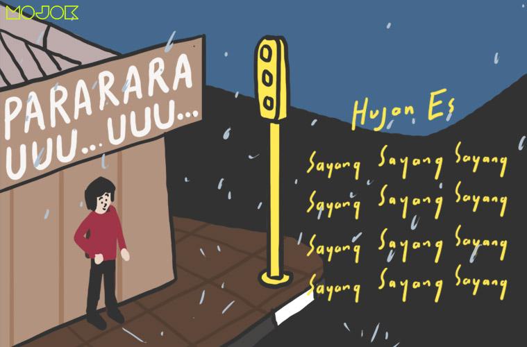 hujan es di Jogja
