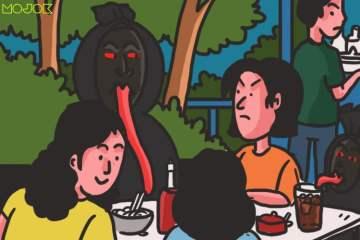 Antara Aku, Pocong, dan Mie Ayam- Staring Contest yang Seru Banget MOJOK.CO