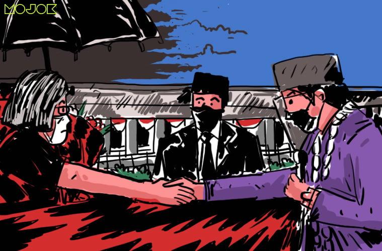 Kondangan Atta Aurel dan 'Rabun Dekat' Jokowi sama Aksi Kamisan