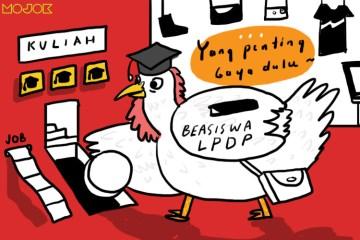 Jatah Beasiswa LPDP Ndak Cukup atau Kamu yang Banyakan Gaya?