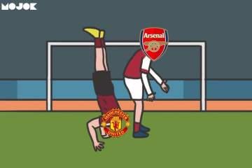 Manchester United Menang dengan Skema, Arsenal Bermain dengan 'Bismillah' MOJOK.CO