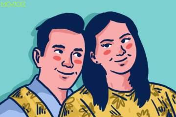ilustrasi Menobatkan Donna Agnesia dan Darius Sinathrya sebagai Pasangan Jempolan Paling Bikin Iri mojok.co