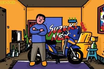 Suzuki Nex 2012 Berjuang Tanpa Butuh Kehadiran Bengkel Resmi MOJOK.CO