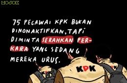 75 Pegawai KPK Bukan Dinonaktifkan, tapi Diminta Lepas Perkara dan Kerja Sesuai Arahan