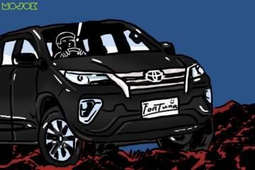 Toyota Fortuner Nggak Senyaman yang Saya Kira karena Kenyamanan Tetap Milik Innova MOJOK.CO