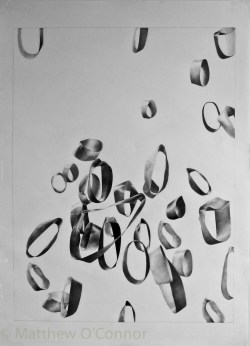 Graphite 54 cm x 38.7 cm, 200 gsm paper Submitted to Luxembourg Art Prize, 2017