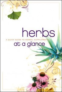 HERBS COVER 203x300 FREE Herbs at a Glance Booklet Available Again!