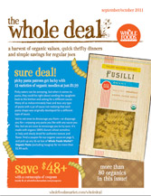 wholedealsept11 Whole Foods Sept/Oct Coupon Booklet