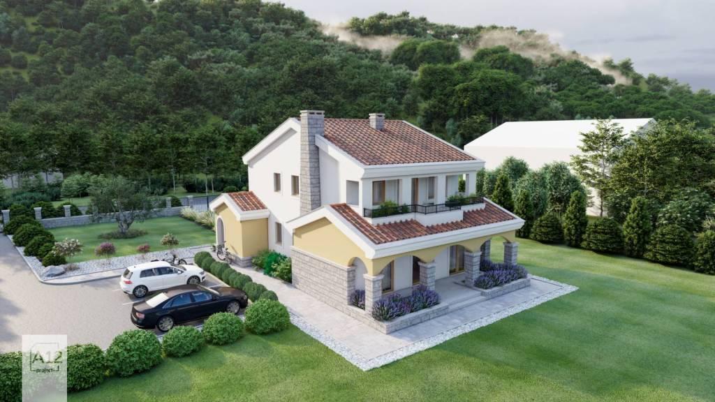 Idejno rješenje kuće Crna Gora