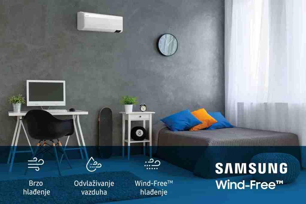 Samsung WInd free Crna Gora