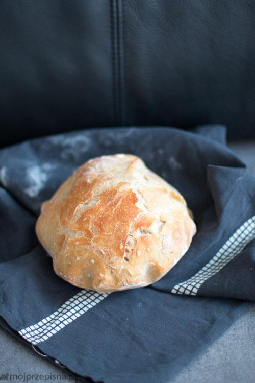 Chleb pszenny bez wyrabiania
