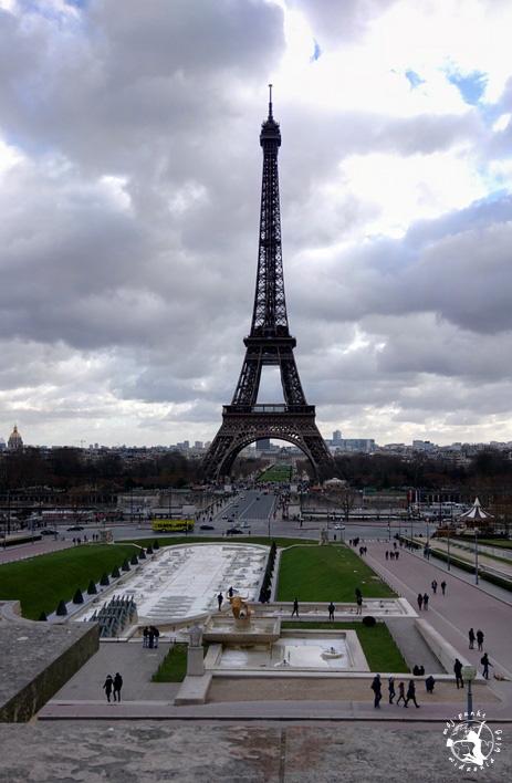 Mój Punkt Widzenia Blog - Pola Marsowe i wieża Eiffla w Paryżu