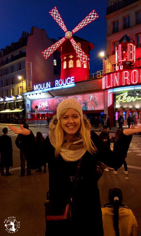 Mój Punkt Widzenia Blog - Moulin Rouge w Paryżu, Francja