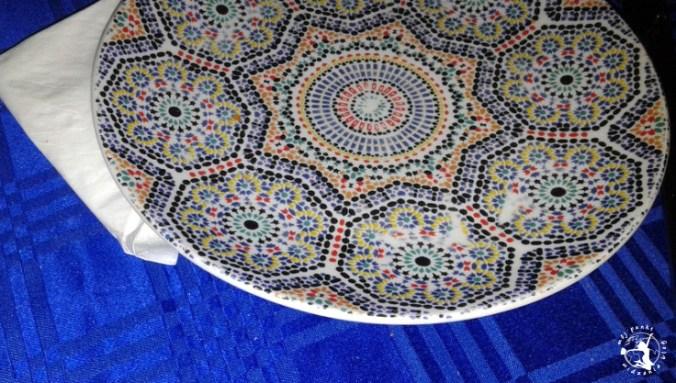 Mój Punkt Widzenia Blog - talerz w marokańskie wzory, Maroko
