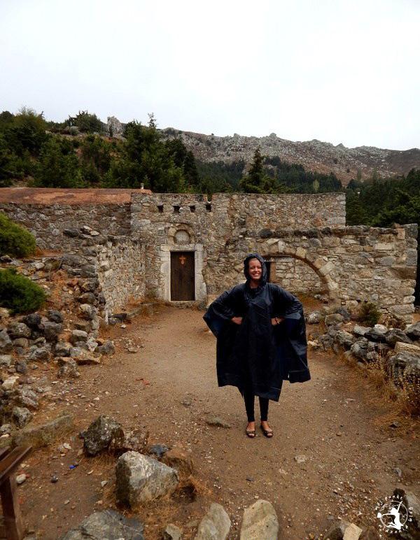 Mój Punkt Widzenia Blog - opuszczona wioska Palio Pyli, zwiedzanie, Grecja