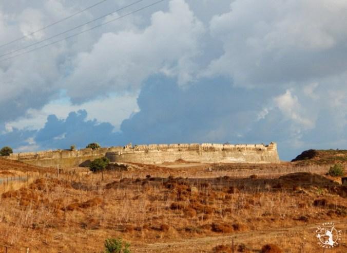 Mój Punkt Widzenia Blog - ruiny fortecy zamku, Kos Grecja