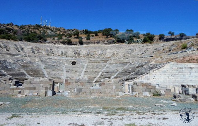 Mój Punkt Widzenia Blog - starożytny teatr, Bodrum