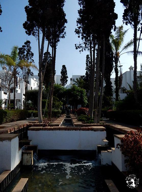 Mój Punkt Widzenia Blog - ogrody na terenie hotelu w Agadirze, Maroko