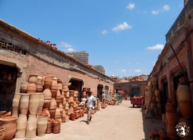 Mój Punkt Widzenia Blog - wyroby ręcznie robione na targowisku, Marrakesz