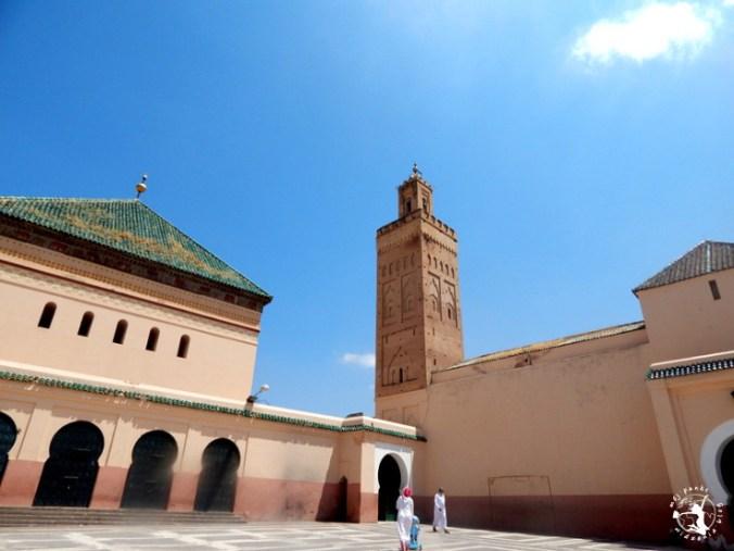 Mój Punkt Widzenia Blog - Minaret w Marrakeszu, Maroko