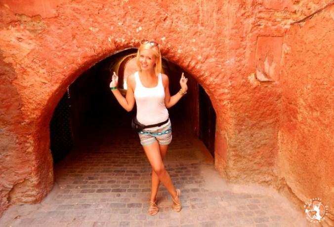 Mój Punkt Widzenia Blog - spacer krętymi uliczkami Marrakeszu, Maroko