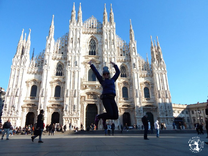 Mój Punkt Widzenia Blog - co trzeba zobaczyć w Mediolanie, atrakcje i skok we Włoszech