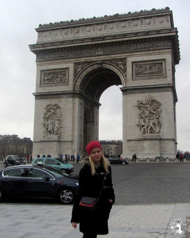 Mój Punkt Widzenia Blog - Łuk Triumfalny w Paryżu, Francja
