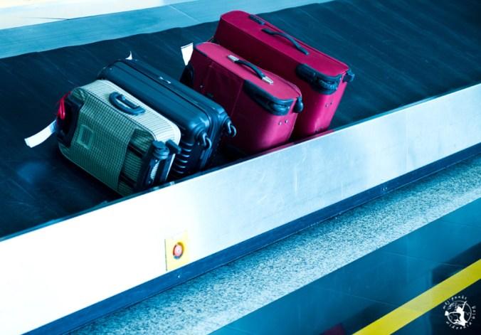Zagubiony bagaż na lotnisku