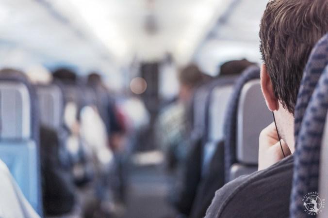Mój Punkt Widzenia Blog - pasażer oczekujący na start w samolocie