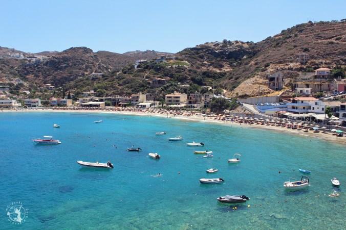 Mój Punkt Widzenia Blog - Grecka plaża Lygaria. Piaszczysta plaża na Krecie