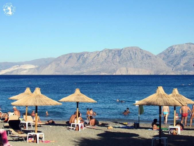 Mój Punkt Widzenia Blog - Plaża piaszczysto-kamienista w Agios Nikolaos, Kreta