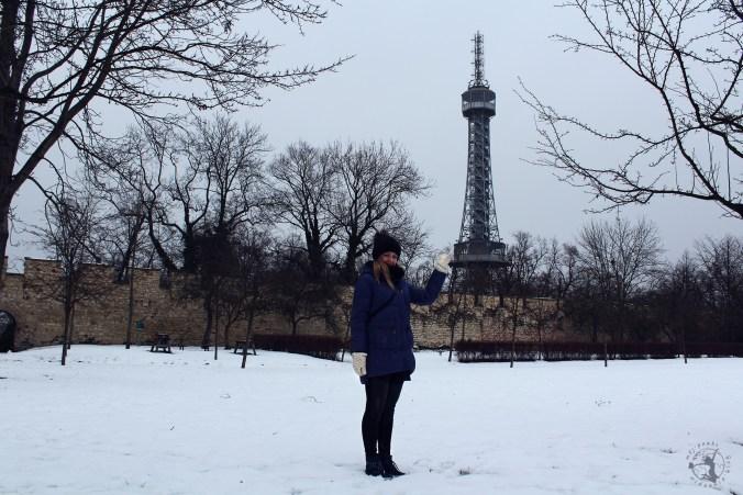 Mój Punkt Widzenia - spacer na wzgórzu Petrin, wieża widokowa