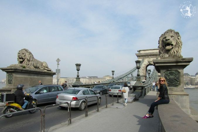 Mój Punkt Widzenia Blog - Most łańcuchowy Szechenyego, Budapeszt