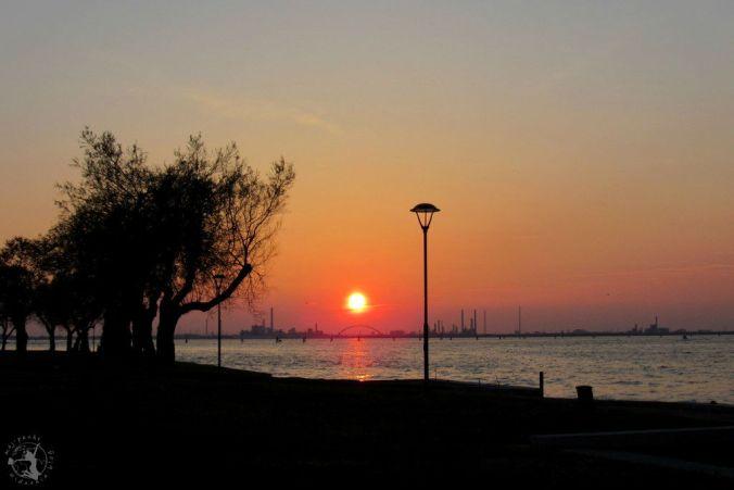 Mój Punkt Widzenia Blog - zachód słońca w Wenecji