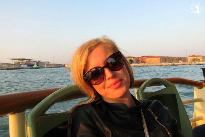 Mój Punkt Widzenia Blog - zachód słońca podczas rejsu