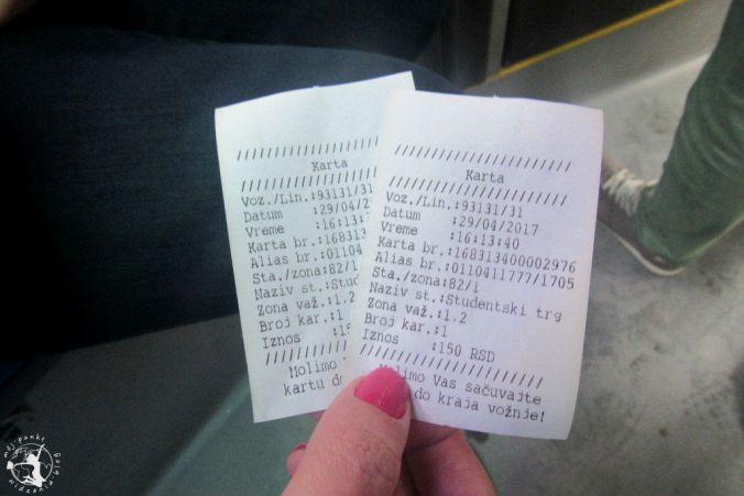 Mój Punkt Widzenia Blog - jednorazowy bilet na przejazd autobusem