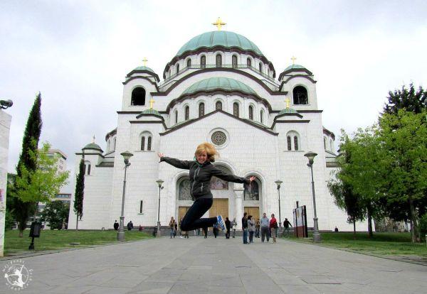 Mój Punkt Widzenia Blog - Cerkiew św. Sawy, Serbia