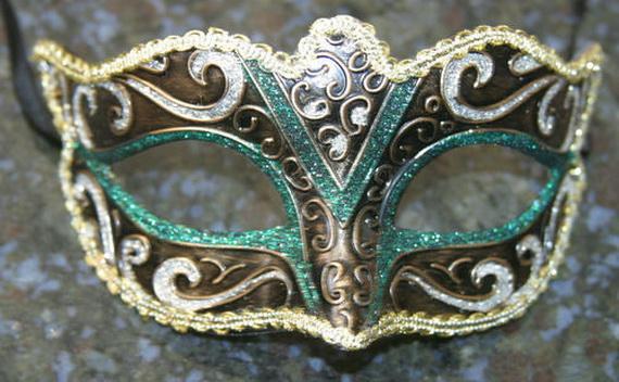 Papir maše: venecijanska maska.