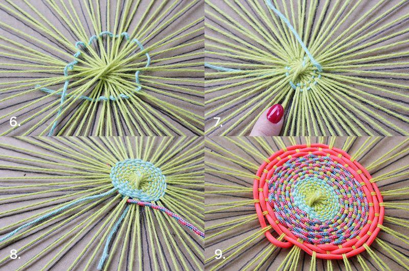 DIY kružni tkani tepih - postupak izrade.