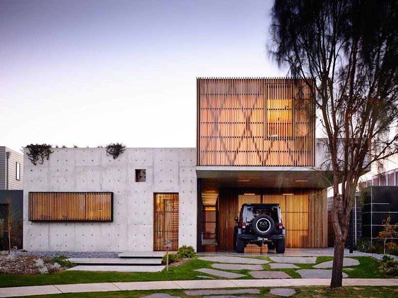 Moderna Drvena Kuća Površine 110 M²