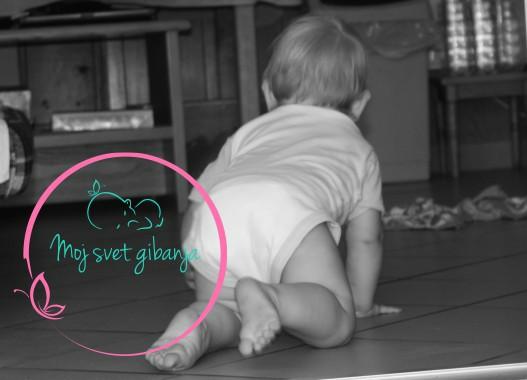 razvoj, dojenček, kobacanje