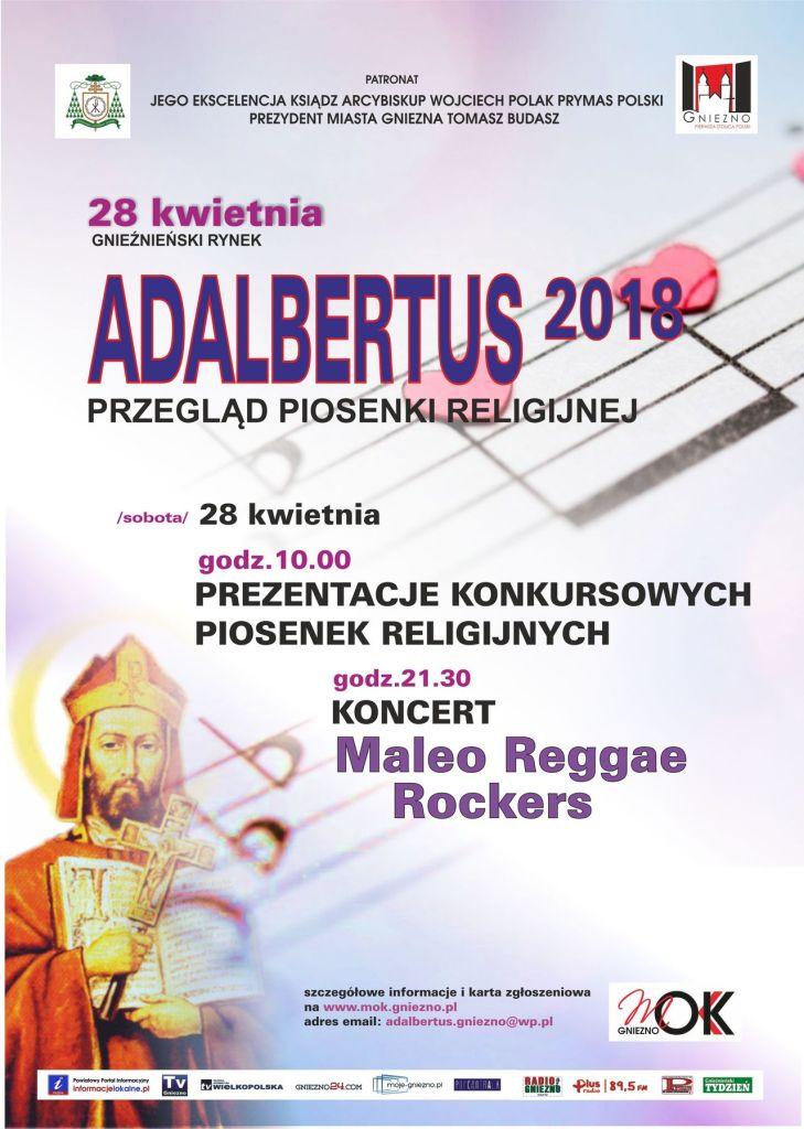 Adalbertus 2018_plakat