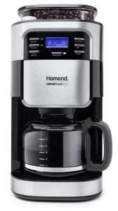 Homend 5002 Öğütücülü Filtre Kahve Makinesi