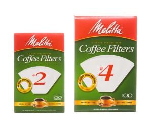 Filtre Kahve Makinesi - Filtre Boyutları