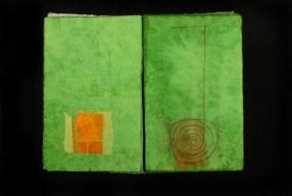 Het huis waarin ik woon, rijstpapier, boek, 2006-2008