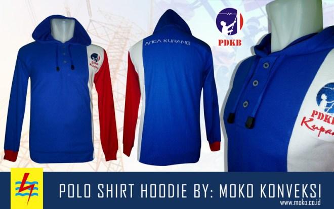 Jual Kaos Kerah Online Polo Shirt Hoodie PDKB PLN Kupang Nusa Tenggara Timur Indonesia
